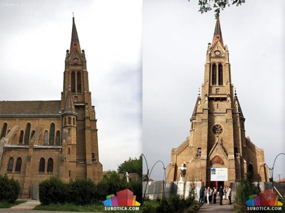 Sanacija tornja Senćanske crkve