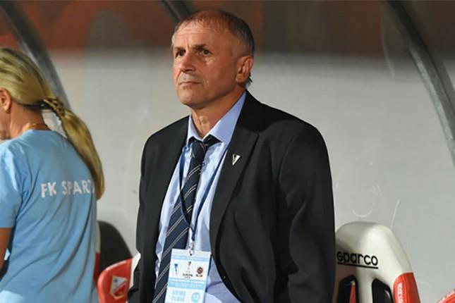 Fudbal: Gaćinović ponovo na klupi Spartaka