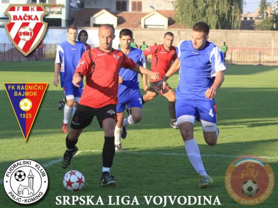 FK Palić, Bačka 1901 i Radnički Bajmok nastavljaju svoje obaveze