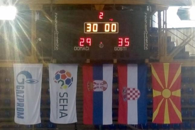 Rukometaši Spartaka odigrali hrabro protiv PPD Zagreba (29:35)