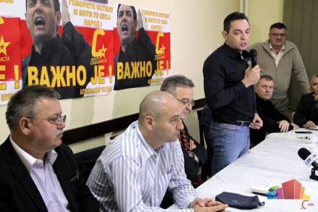 U Novom Žedniku održana javna sednica GrO Pokreta socijalista