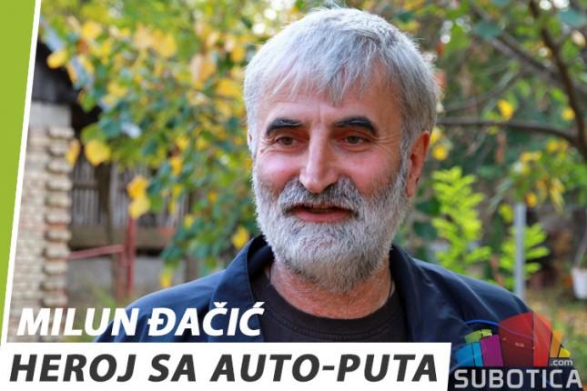 Milun Đačić - heroj sa auto-puta