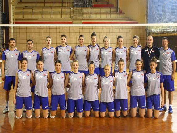 Pobeda juniorske reprezentacije Srbije protiv Brazilki (druga prijateljska utakmica)