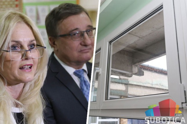 """Pokrajinski sekretar, Mihalj Njilaš, posetio OŠ """"Majšanski put"""""""