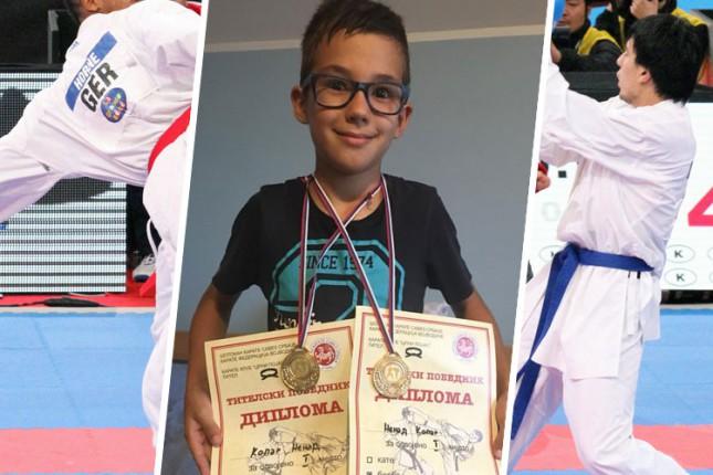 Karate: Četiri medalje Spartak Enpija na Titel Kupu