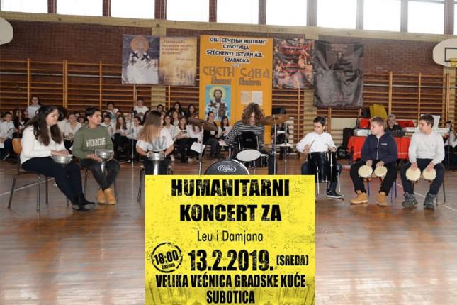 """Humanitarni koncert """"Za Leu i Damjana"""""""