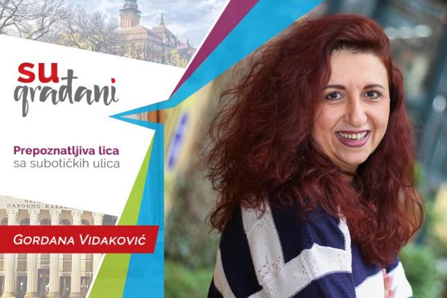 "SUgrađani: Gordana Vidaković - ""Nisam želela da ulazim u osinjak"""