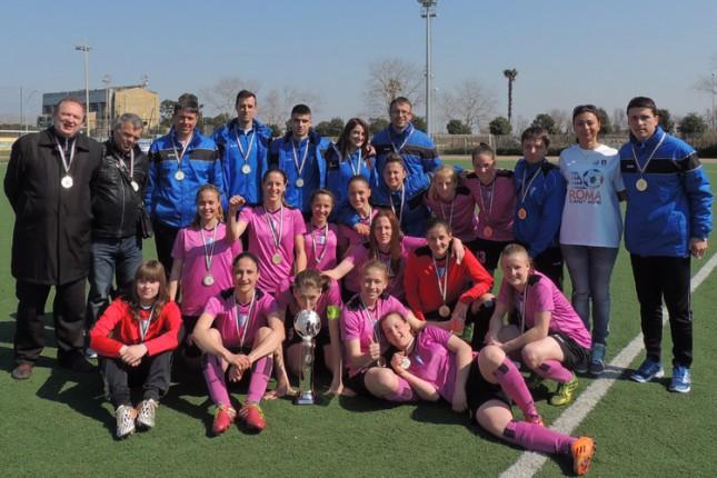 Fudbalerke Spartaka osvojile međunarodni turnir u Rimu