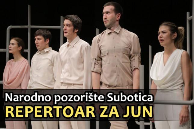 Repertoar Narodnog pozorišta za jun
