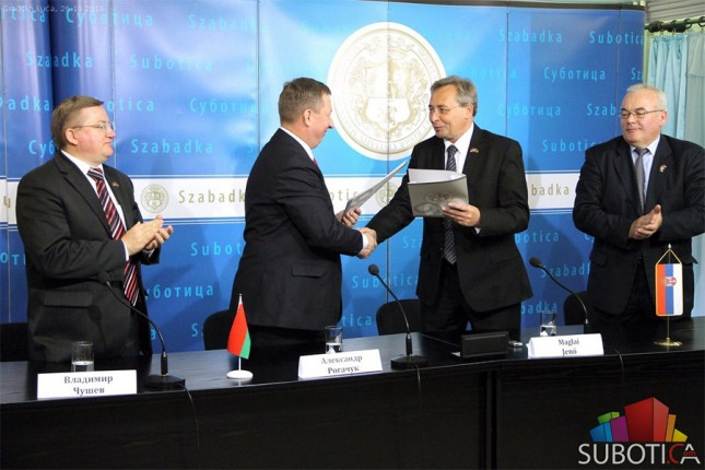 Potpisan sporazum o saradnji Subotice i Bresta