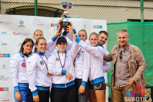 Tenis: Juniorke Spartaka osvojile (i) titulu seniorskog ekipnog prvaka Srbije