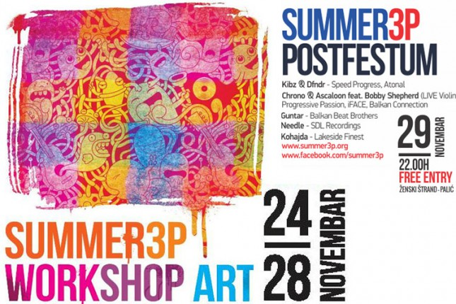 Summer3p festival Workshop Art i Postfestum