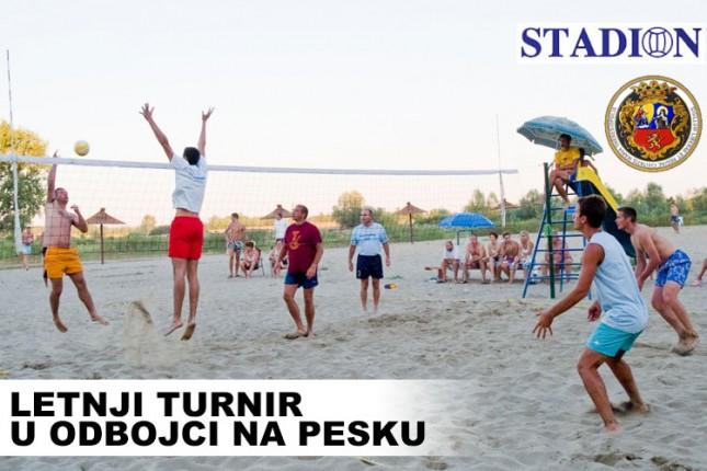 Prijave za Letnji turnir u odbojci na pesku od srede