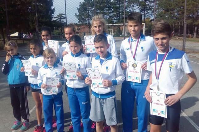 Atletika: Pioniri Spartaka ostvarili vrlo zapažene rezultate na Krosu RTS-a u Vrbasu