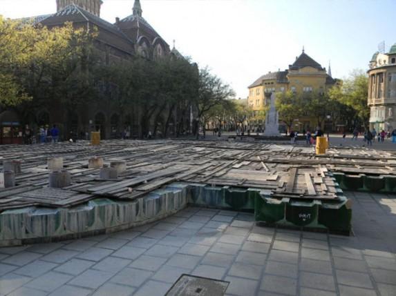 Zelena fontana - od sjaja do očaja