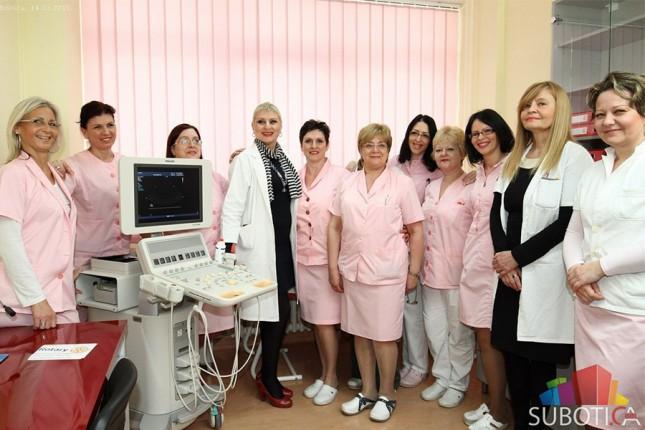 Donirana oprema za dijagnostiku Dečjem odeljenju Opšte bolnice Subotica
