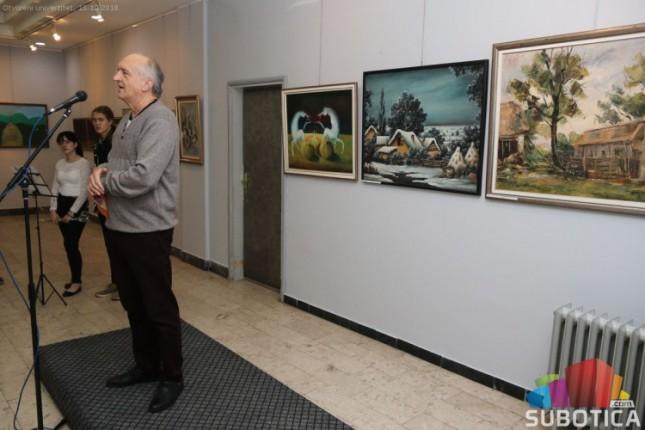 "Otvorena retrospektivna izložba slikarske kolonije ""Elan"""
