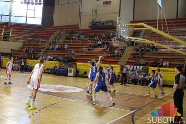 Košarkašice Spartaka poražene od Partizana (81:64)