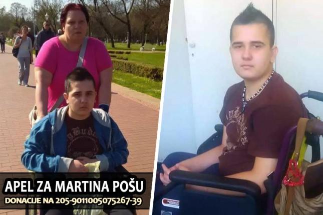 Apel za 14-godišnjeg Martina Pošu
