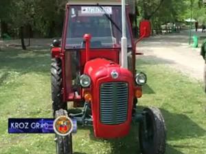 ZOO vrt dobio traktor od ministarstva ekonomije