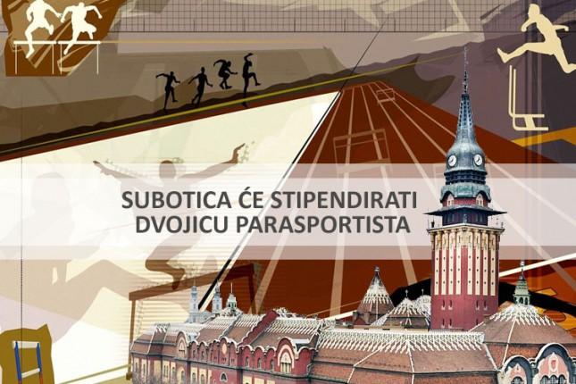 Subotica jedini grad koji će stipendirati dvojicu parasportista