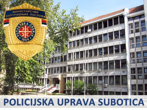 Nedeljni izveštaj Policijske uprave Subotica (27.1. - 2.2.)