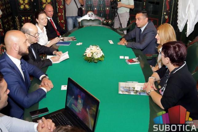 Ambasador Portugala prilikom posete Subotici istakao mogućnost saradnje u oblastima kulture i turizma