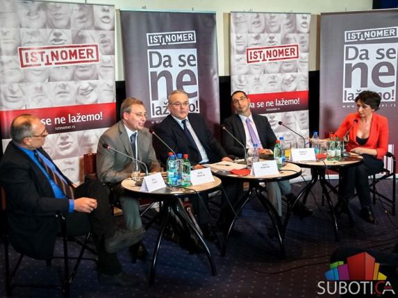 """Održana debata Istinomera - opozicija """"protiv"""" aktuelne vlasti"""