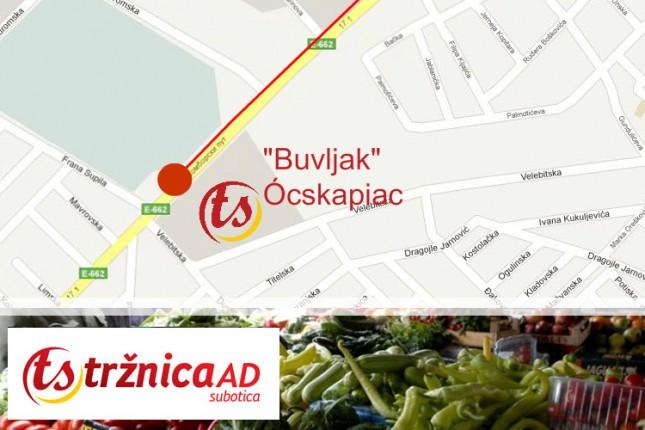 Cene životnih namirnica na Zelenoj pijaci na Buvljaku (22. avgust)