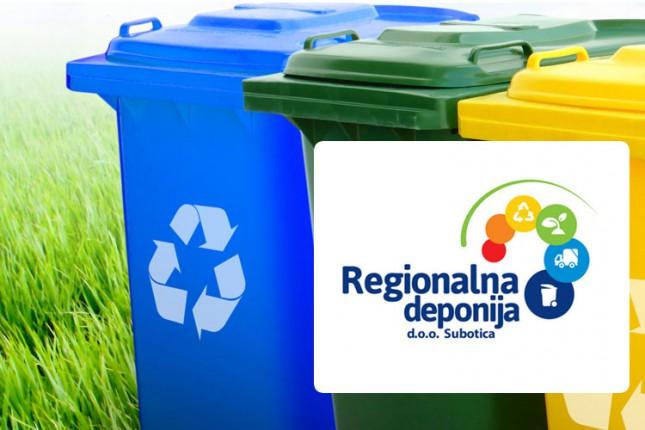 """""""Regionalna deponija"""" probija rokove - domaćinstva dobijaju plave kante"""