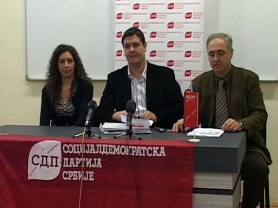 Gradski odbor Socijaldemokratske partije Srbije zadovoljan rezultatima izbora
