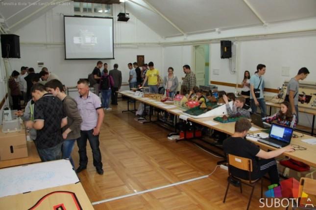 Održana smotra učeničkih radova učenika mašinskih škola Vojvodine