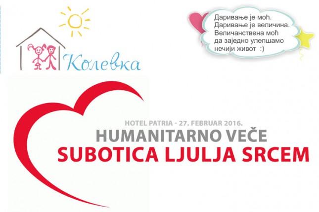 """Humanitarno veče za """"Kolevku"""""""