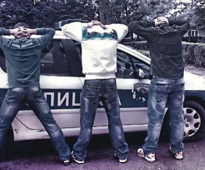 Uhapšeni razbojnici iz Kraljeva