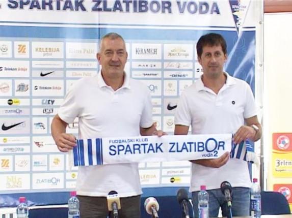 "Promovisan novi Zoran na klupi FK ""Spartak Zlatibor voda"""