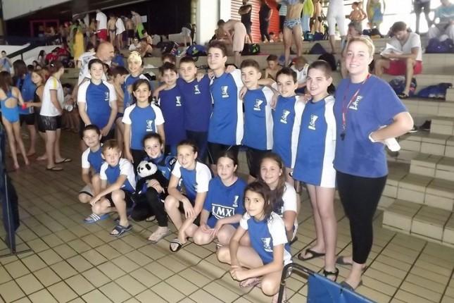 Uspešan nastup plivača Spartaka na mitingu u Novom Sadu