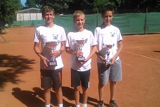 Uspešni nastupi tenisera Spartaka na Prvenstvu Srbije