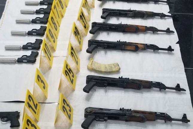 U Bajmoku pronađena veća količina oružja i municije