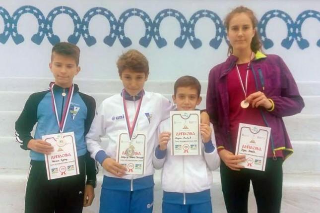 Izuzetan nastup mladih atletičara Spartaka na krosu RTS-a u Požarevcu