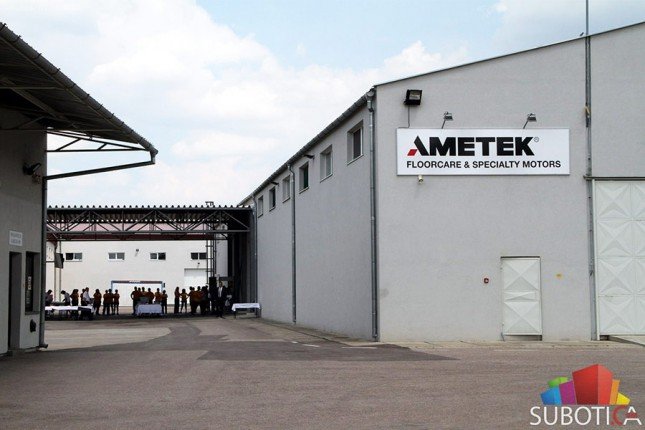 "Otvorena fabrika ""Ametek"""