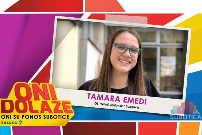 """Oni dolaze: Tamara Emedi, maturantkinja OŠ """"Miloš Crnjanski"""" i učenica Muzičke škole"""