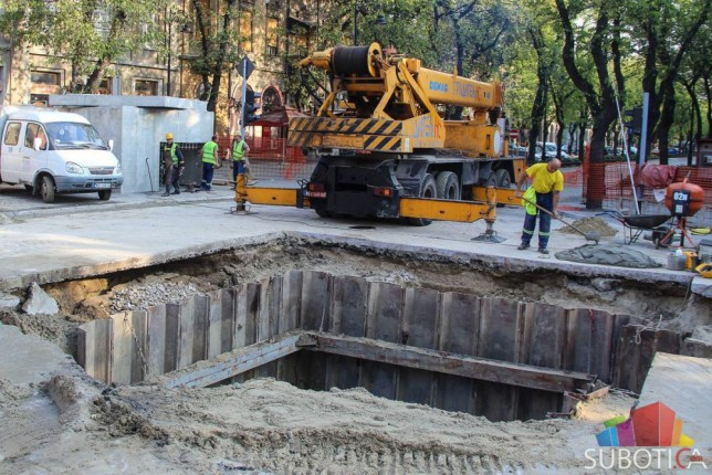Za par dana ulica Matka Vukovića ponovo otvorena za saobraćaj