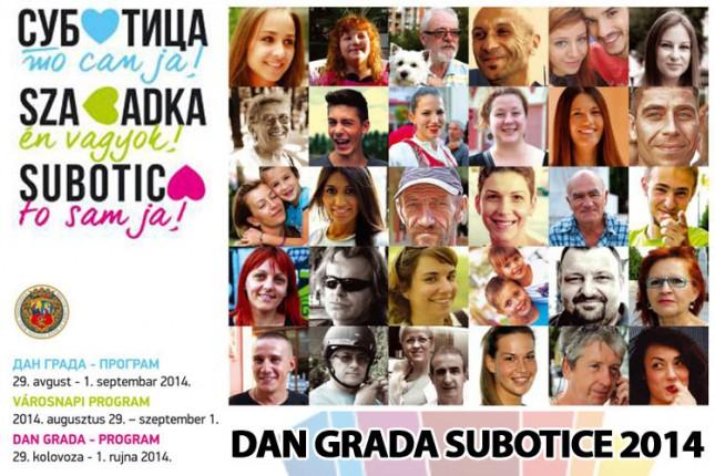 Dan grada 2014: Subotičani za Subotičane (program proslave)