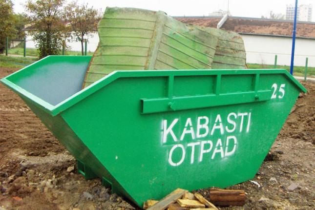 Kontejneri za kabasti otpad naredne sedmice u MZ Prozivka, Peščara, Aleksandrovo i Bajnat
