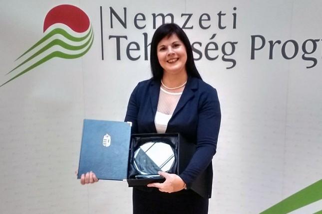 """Učiteljica Kristina Šalata Ugrai dobitnica prestižne nagrade """"Bonis Bona - za talente nacije"""""""