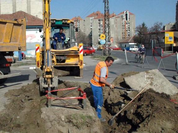 Zbog radova zatvorena Izvorska ulica