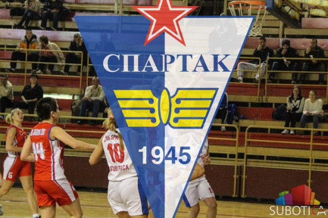 Košarkašice Spartaka 8. na kraju sezone
