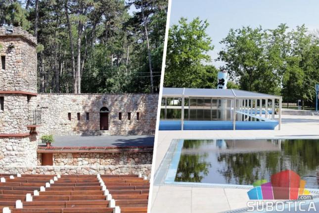 Novo lice Letnje pozornice i Termalnog bazena