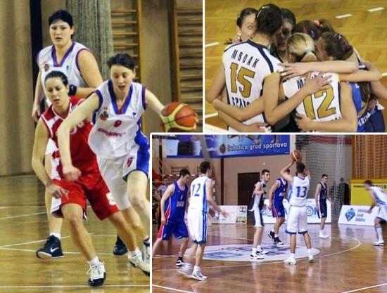 Pripreme košarkašica, košarkaša i odbojkašica