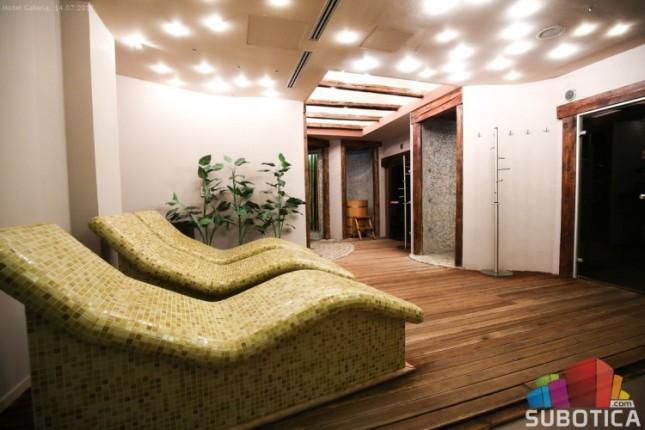 Obradujete svoje telo u renoviranom Wellness centru hotela Galleria
